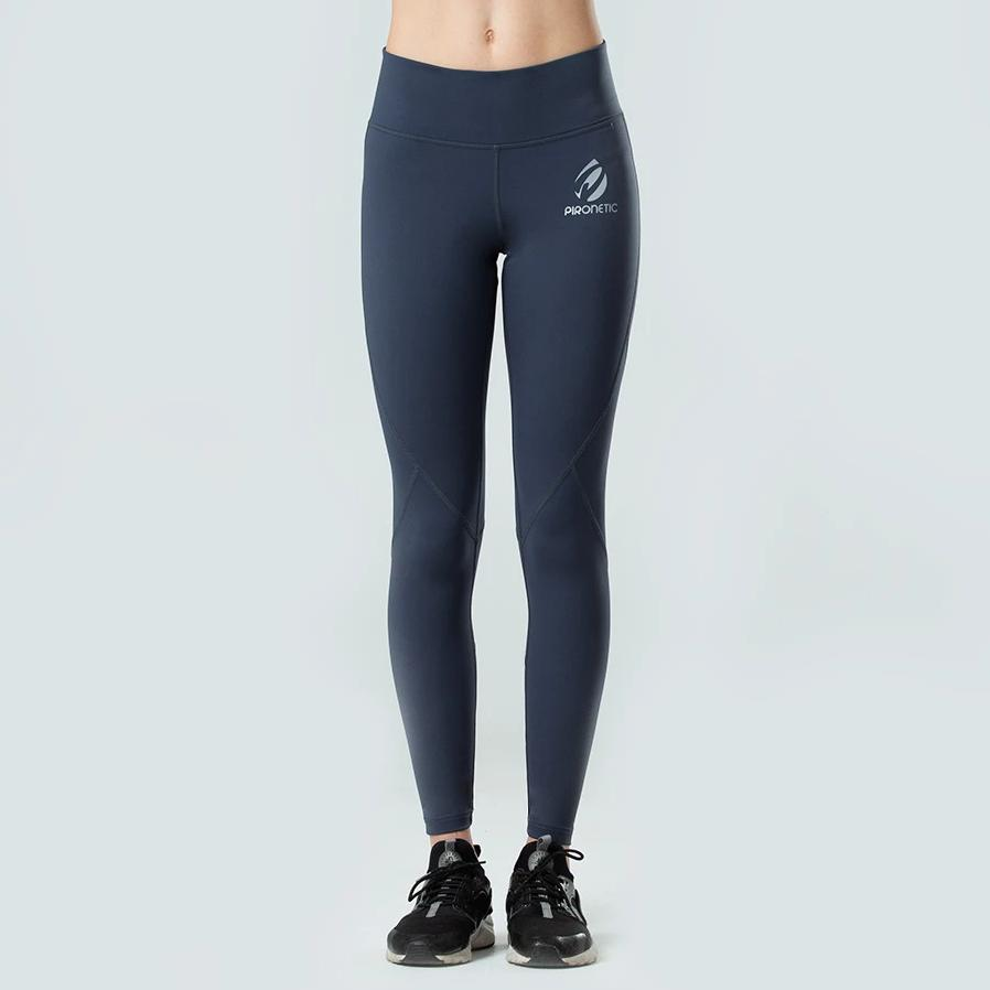 Explosive Dove Grey Tights | pironetic.com | Pironetic - an athleisure brand for active women | sportswear, activewear - leggings, wedges, tights, pants, jackets, t-shirts, tops, tanks, sports bras