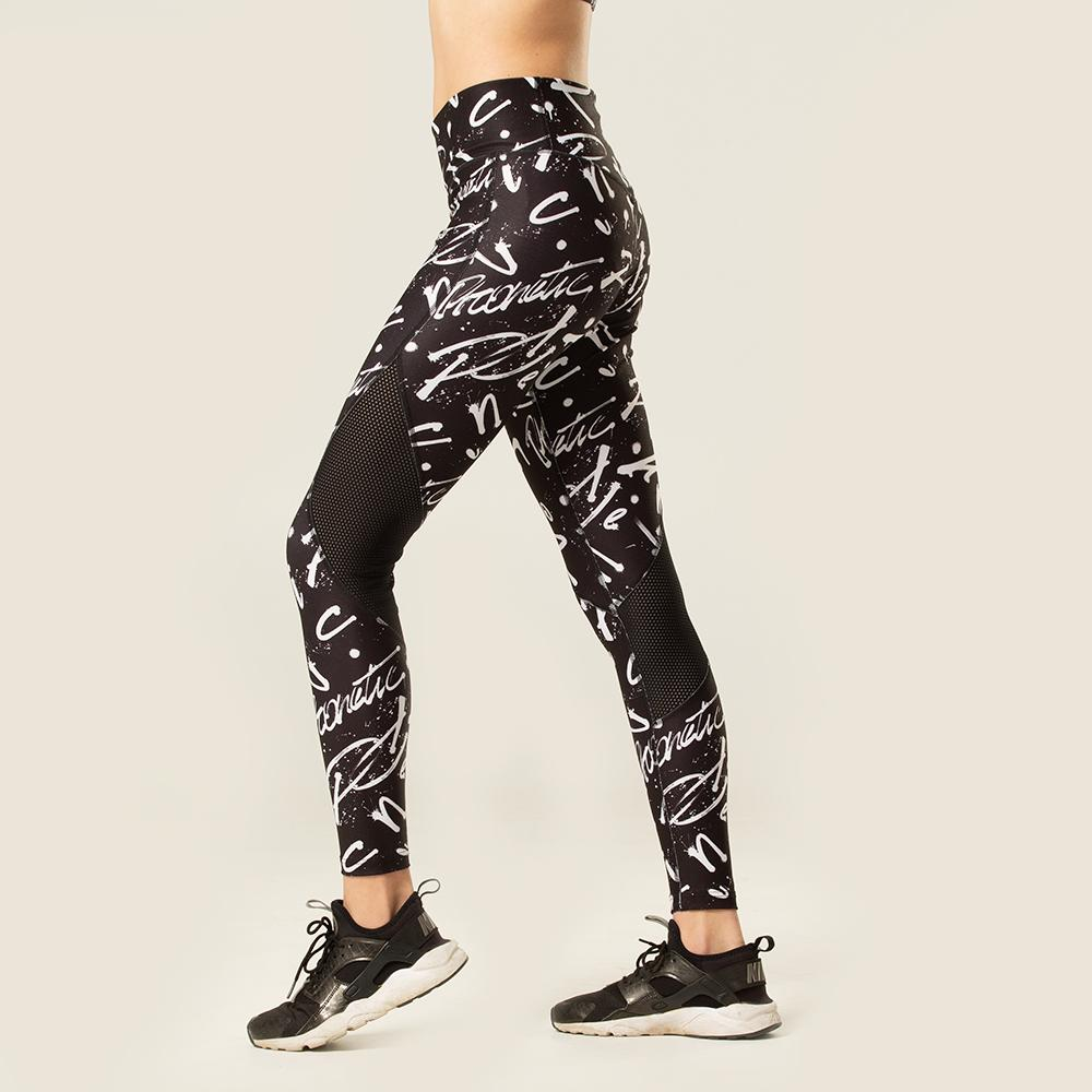 Monochrome Full-Length Tights | pironetic.com | Pironetic - an athleisure brand for active women | sportswear, activewear - leggings, wedges, tights, pants, jackets, t-shirts, tops, tanks, sports bras