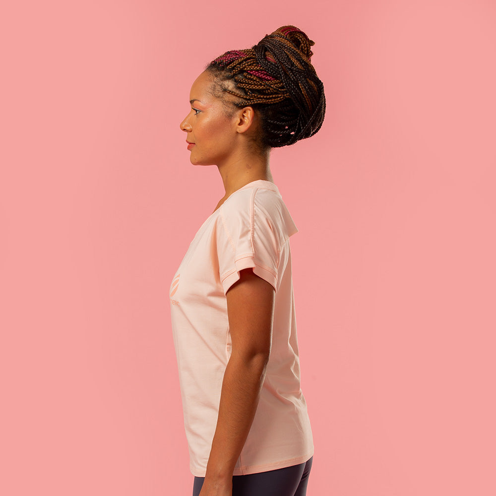 Watch My Back Geometry Tee | pironetic.com | Pironetic - an athleisure brand for active women | sportswear, activewear - leggings, wedges, tights, pants, jackets, t-shirts, tops, tanks, sports bras