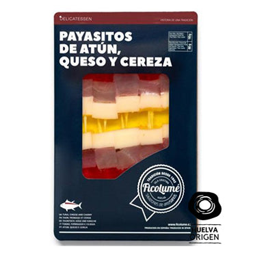 Payasitos Atún, Queso y Cereza