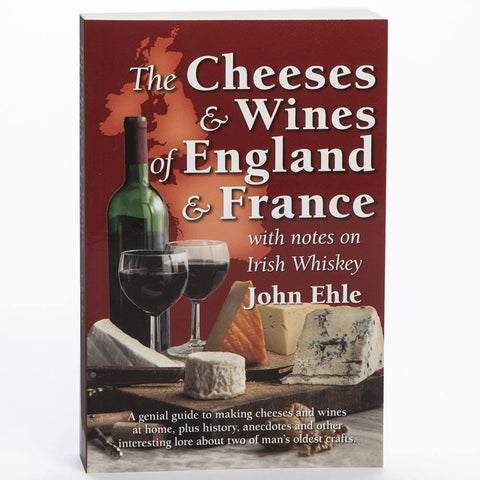 BOOK CHEESES & WINES OF ENGLAND AND FRANCE (B22)