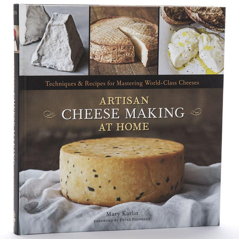 BOOK ARTISAN CHEESE MAKING AT HOME (B33)