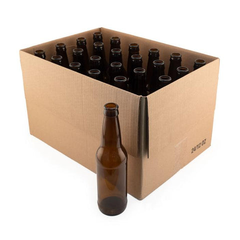 BOTTLES 355ML 24/CASE BROWN