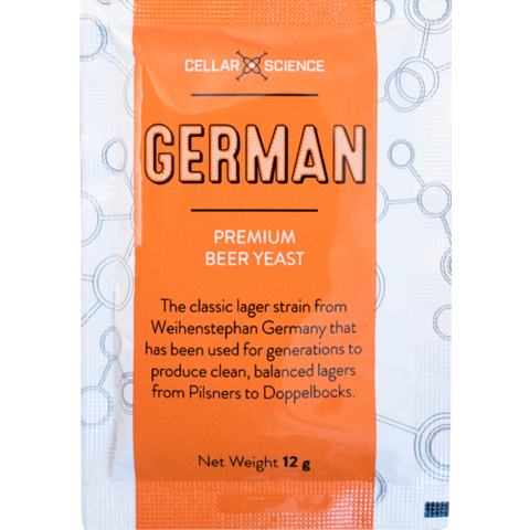 YEAST CELLARSCIENCE - GERMAN LAGER 12g