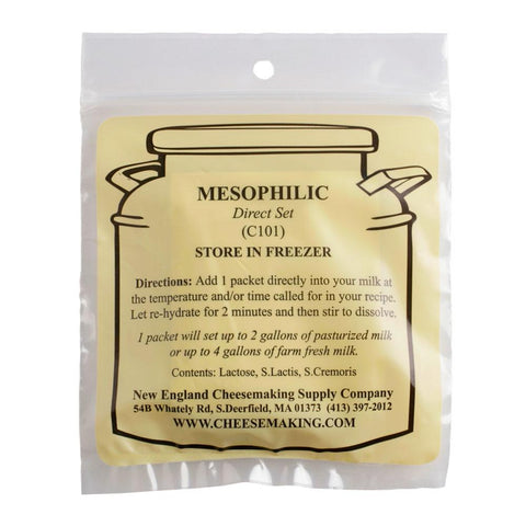 CHEESE MESOPHILIC DIRECT SET CULTURE 5/PACK (C101)