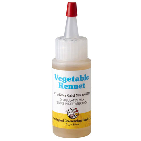 CHEESE LIQUID VEGETABLE RENNET 60ml (R6)