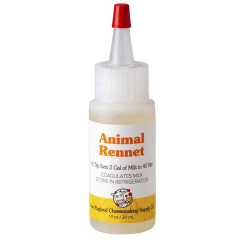 CHEESE LIQUID ANIMAL RENNET 60ml (R7) EXP 11/20 50% OFF