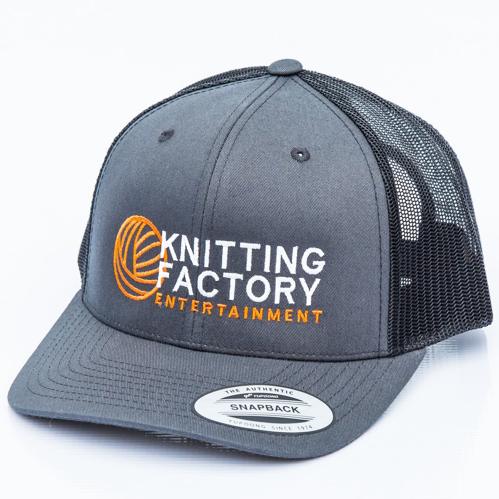 knitting factory entertainment - logo hat