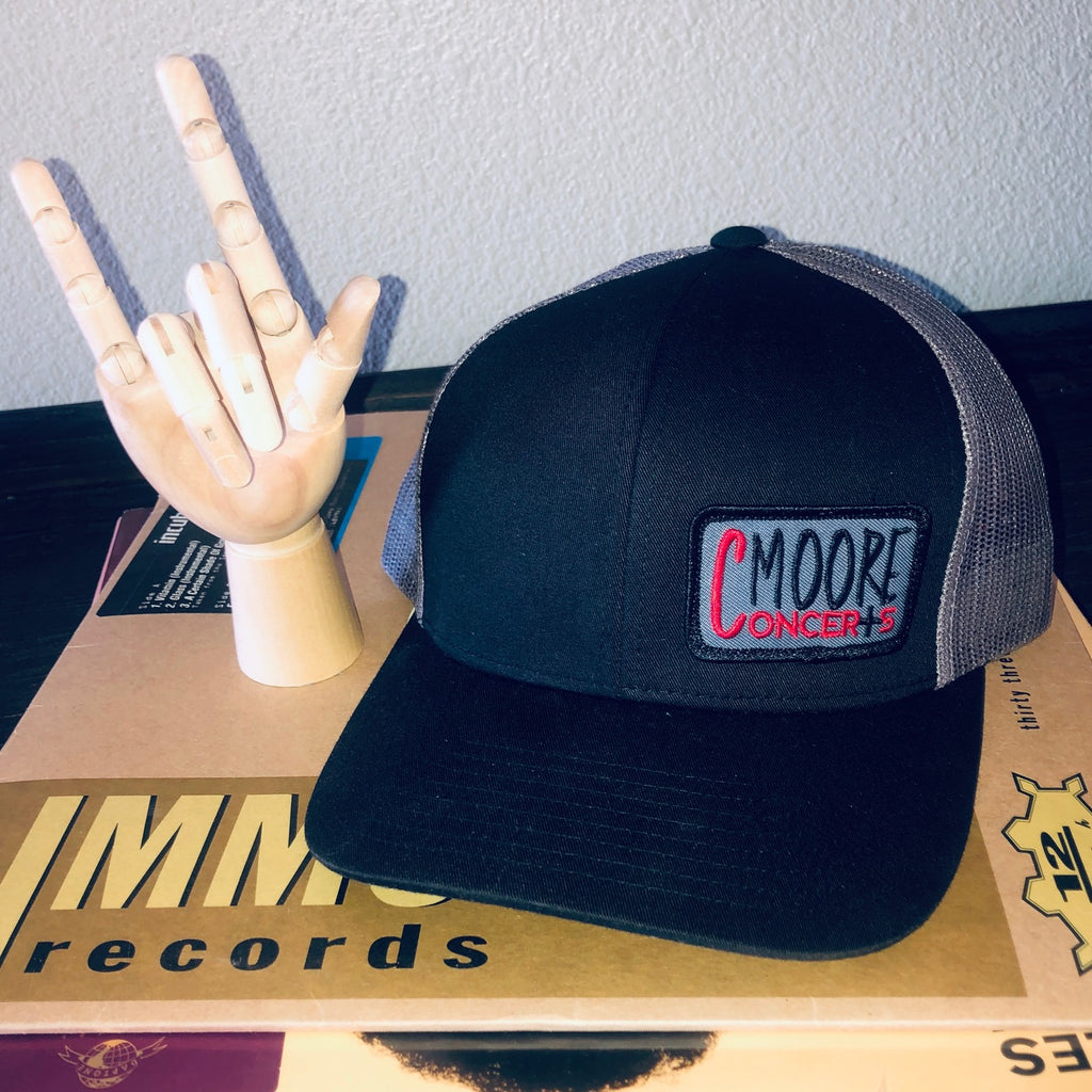 cmoore concerts - snapback hat