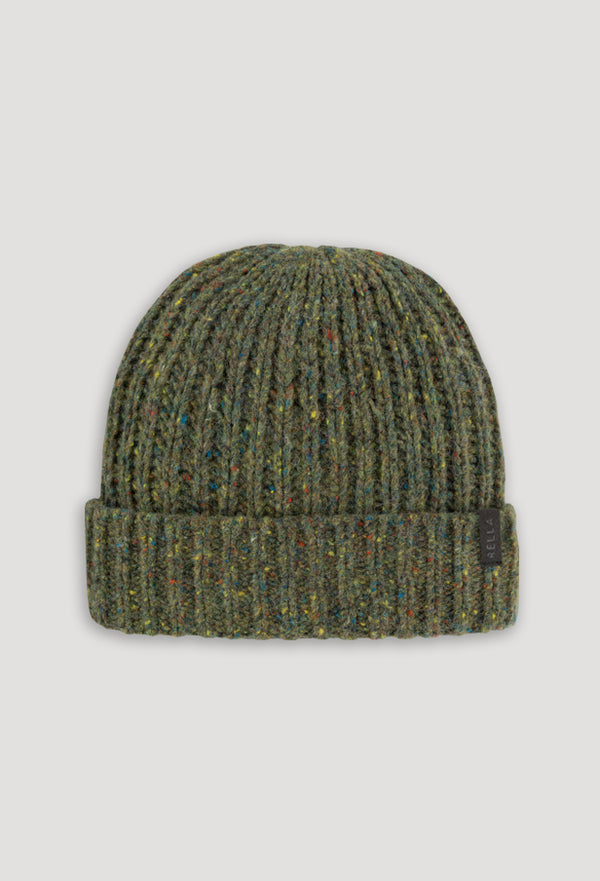 CRAFTO TWEED BLEND CUFFED BEANIE