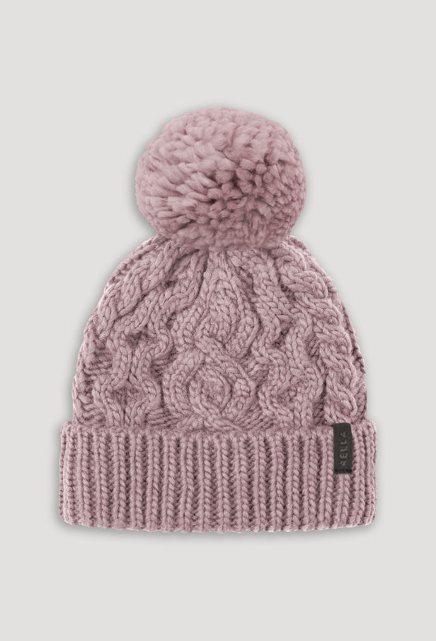 HIGH RISE CUFFED POM BEANIE