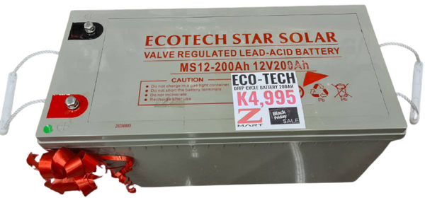 ECOTECH STAR SOLAR BATTERY