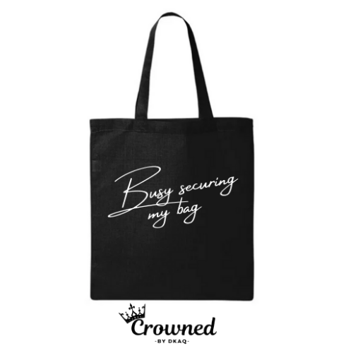 """Busy"" Tote"