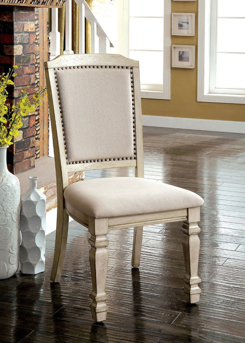 HOLCROFT Antique White/Ivory Side Chair (2/CTN) image