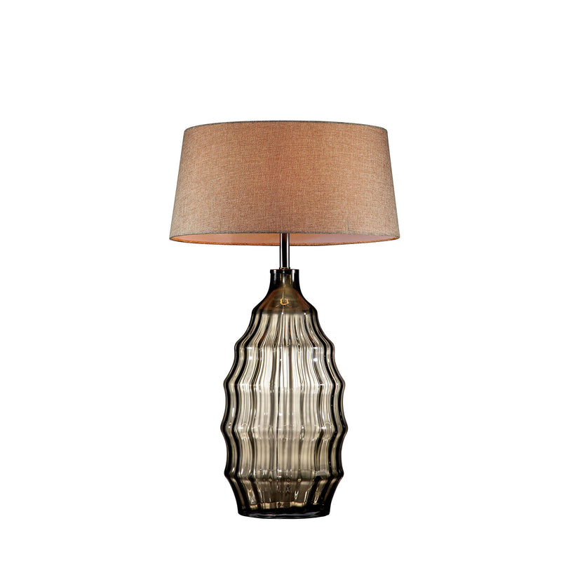 "Elen Olive 28""H Olive Glass Table Lamp image"