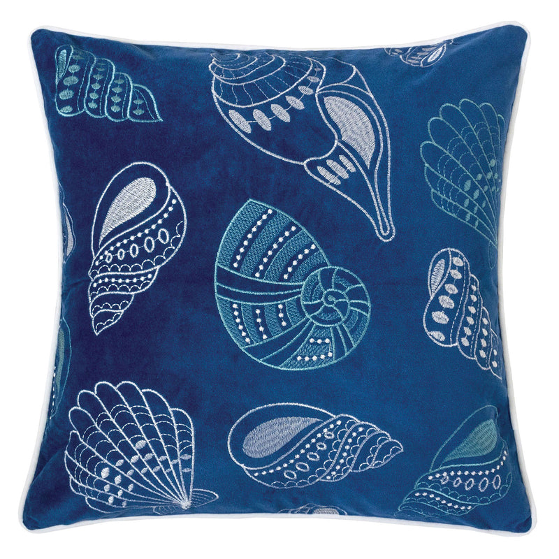 "Kimmy Blue 20"" X 20"" Pillow, Blue image"