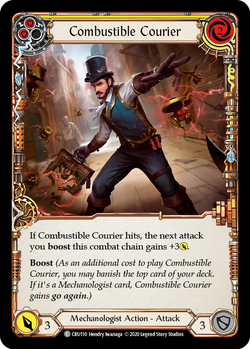 Combustible Courier (Yellow) - Foil