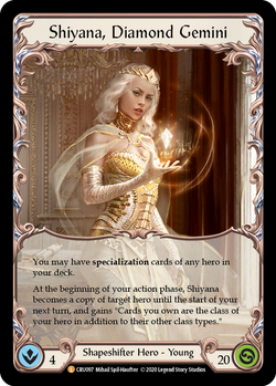 Shiyana, Diamond Gemini