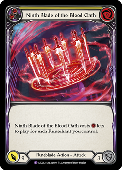 Ninth Blade of the Blood Oath (Unlimited)