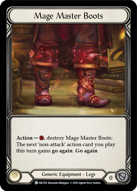 Mage Master Boots (Unlimited)