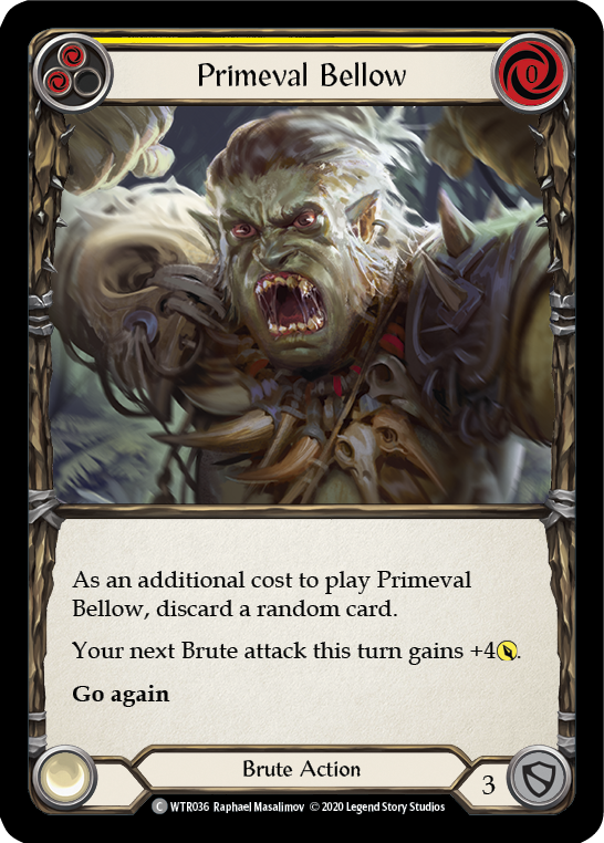 Primeval Bellow (Yellow) (Unlimited)