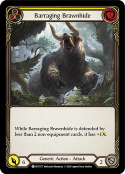 Barraging Brawnhide (Yellow) (Unlimited)