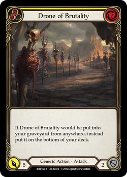 Drone of Brutality (Yellow)