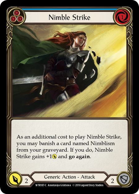 Nimble Strike (Blue)