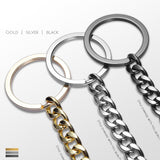 hipster key chain - F-Jewelry