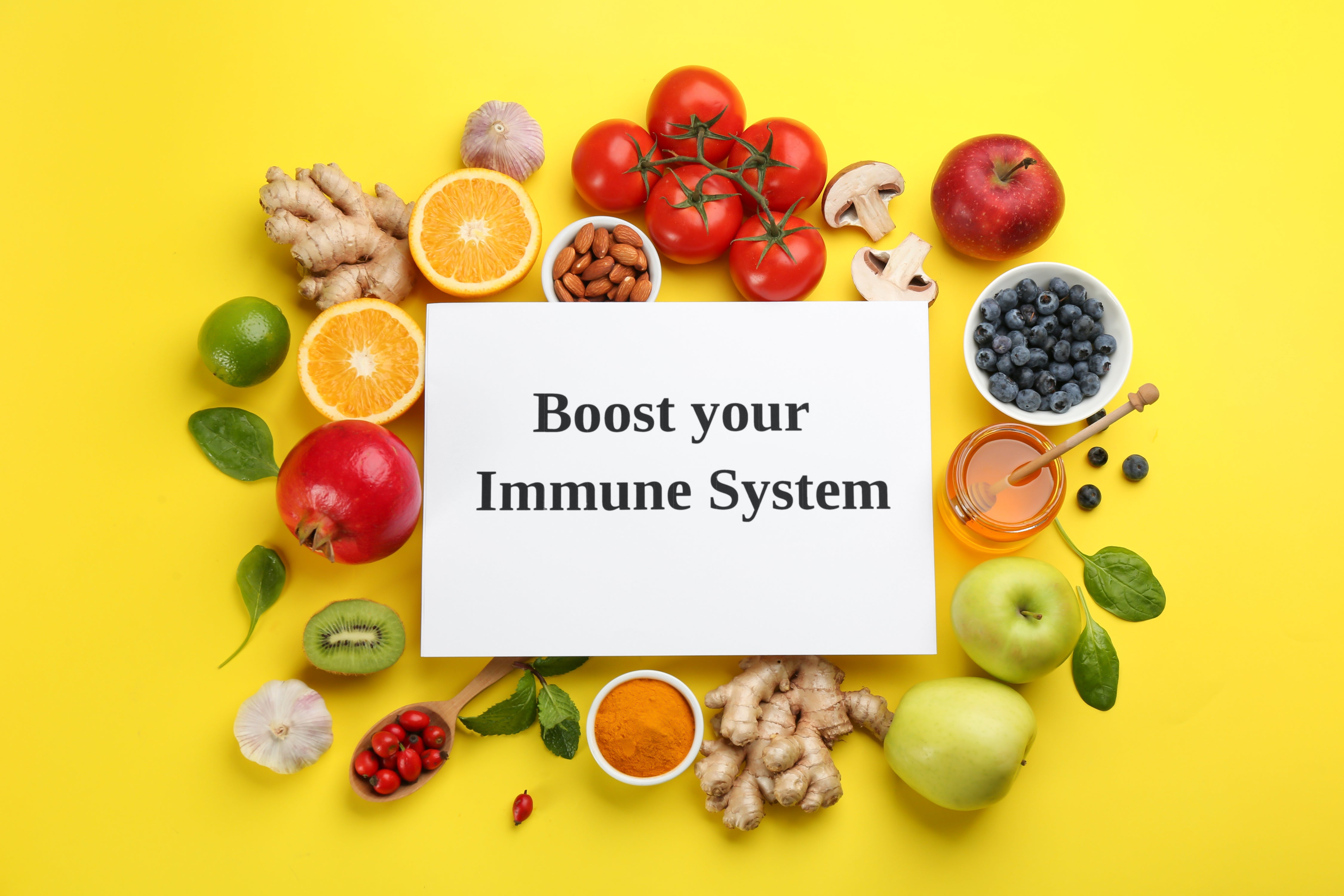 Boost your immunity with greens and fruits