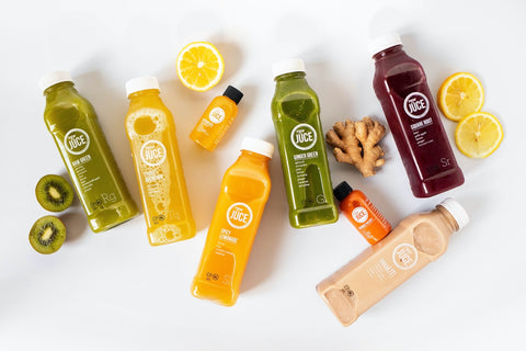Organic Cold Pressed Raw Juce Juice Cleanse