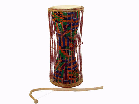"Talking Drum Kente Cloth 15"" - J0141"