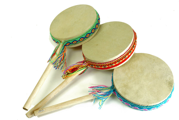 Damasas Drum/Shaker on a Stick - J020S