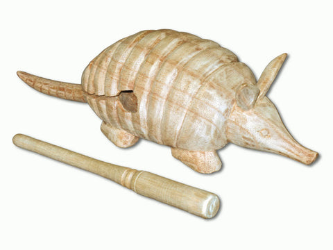 Armadillo Wood Block - Large J0320