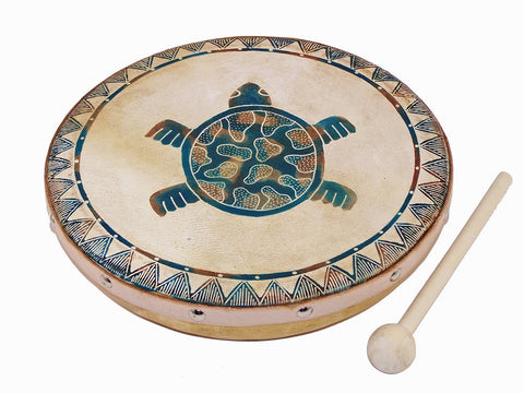 Frame Drum Turtle - J053