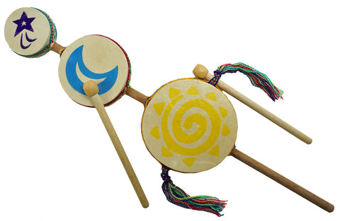 Junior Sun Moon Star Drum - w/ 30 minute online guide - R0181