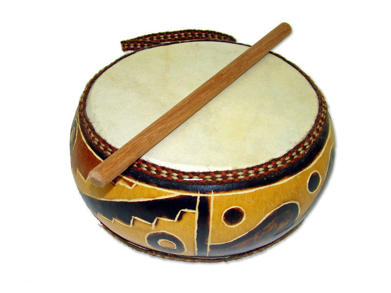 Gourd Double Drum - R004
