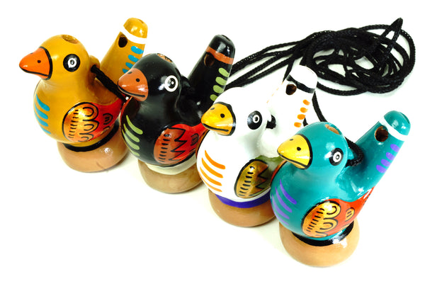 Bird Water Whistle Traditional Assorted - W004A