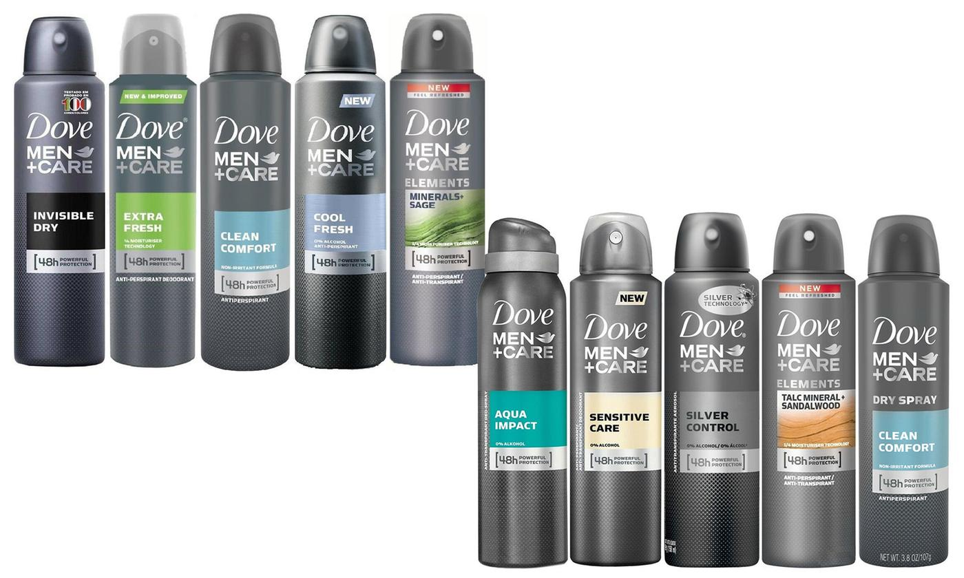 shopify-10-Pack Dove Antiperspirant Spray Deodorant For Men 150 ml-1