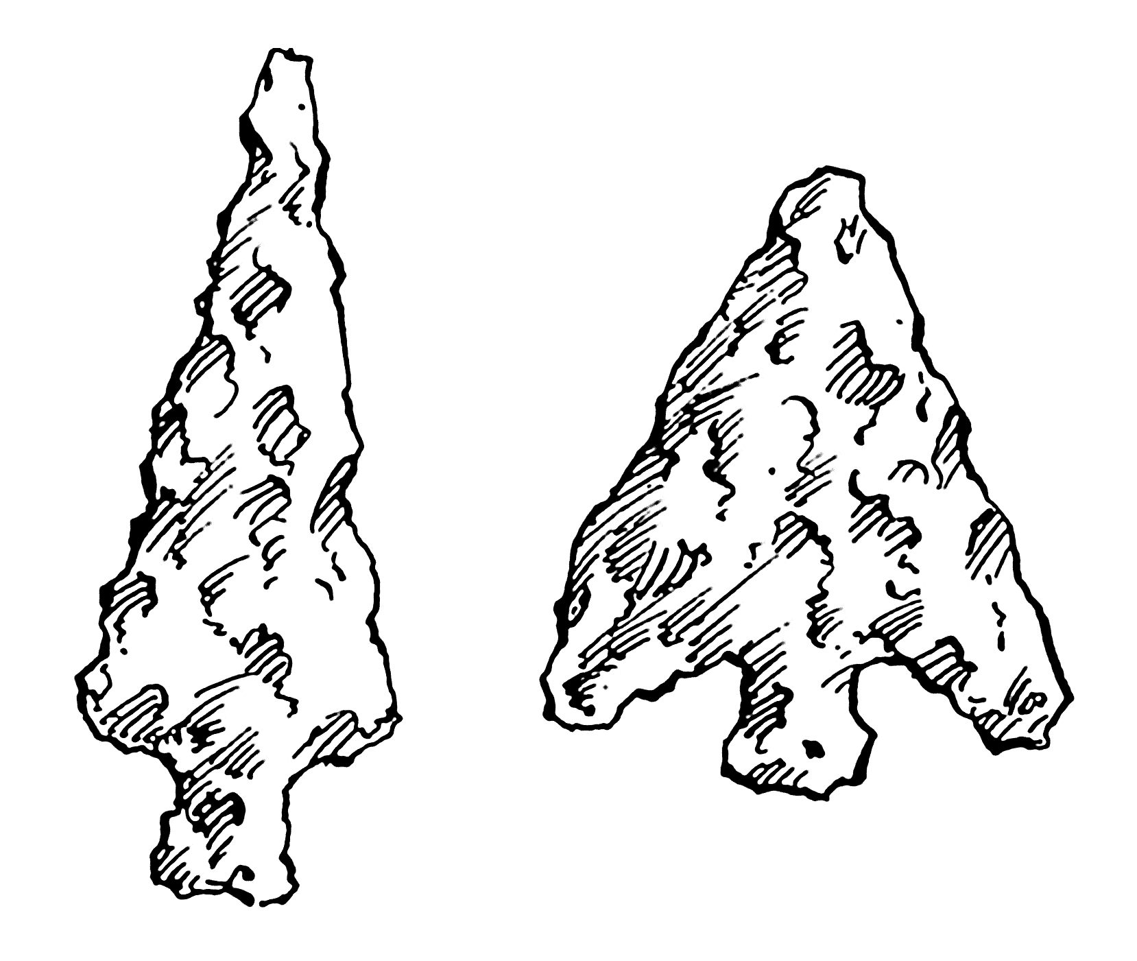 arrowheads coloring pages - photo#1