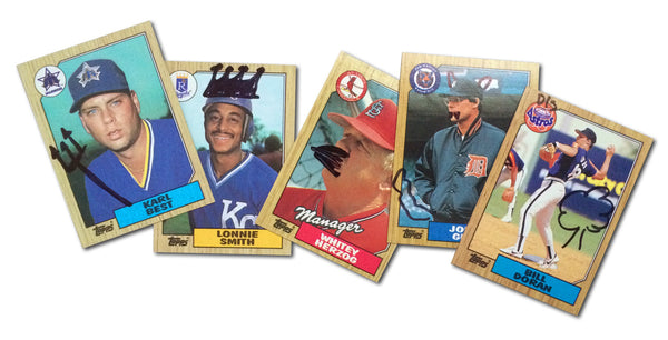 fan-enhanced baseball cards