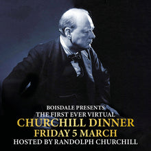 Load image into Gallery viewer, Virtual Churchill Dinner - Beef Menu (Serves 2)