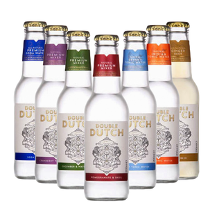 Double Dutch Premium Mixers (24 x 200ml bottles)