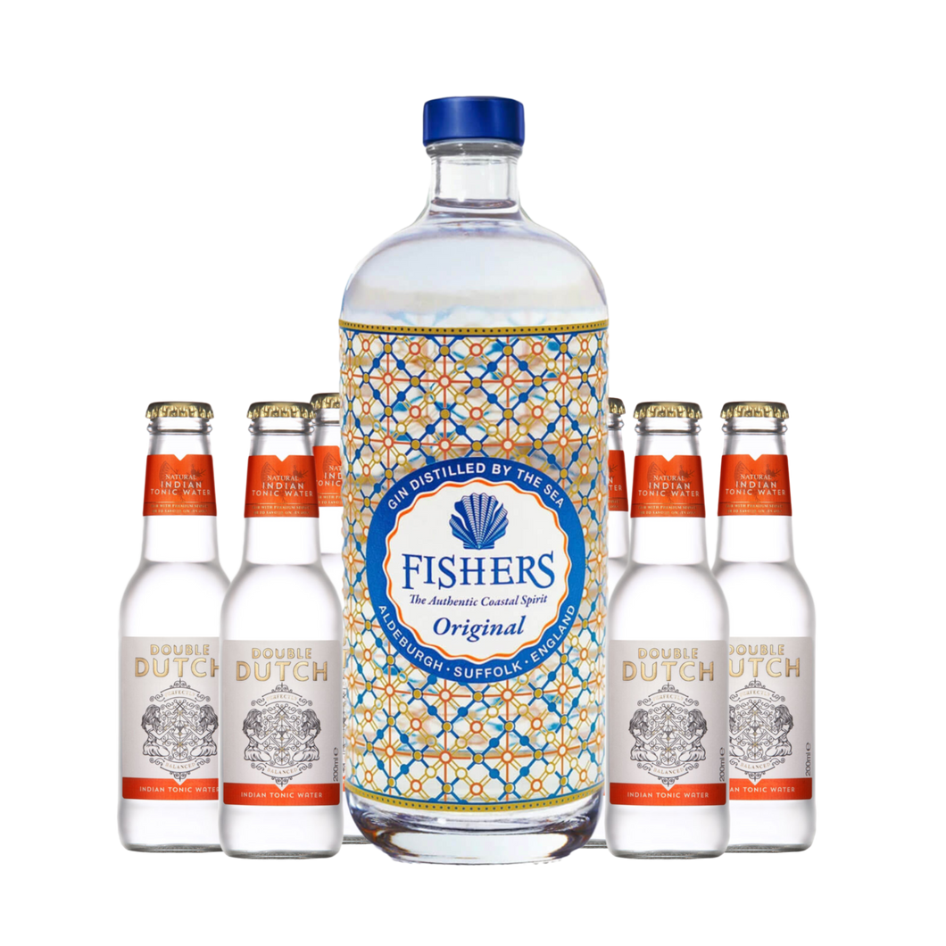 Fishers Gin x Double Dutch Tonic