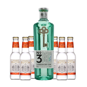No. 3 Gin x Double Dutch Tonic
