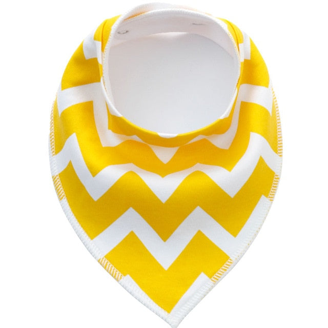 zigzag Cloth Bib
