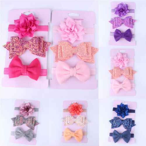 Colorful Elastic Hairband Set