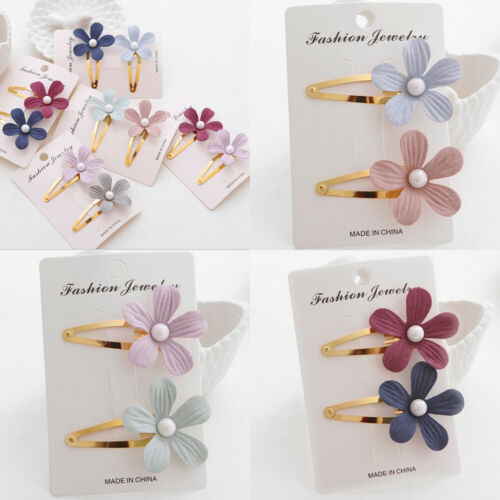Flower Hair Clip Set
