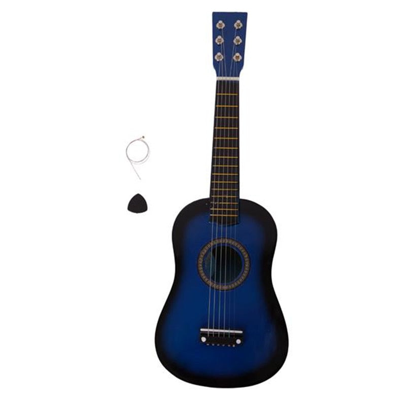 6 String Acoustic Guitar with Pick and Strings