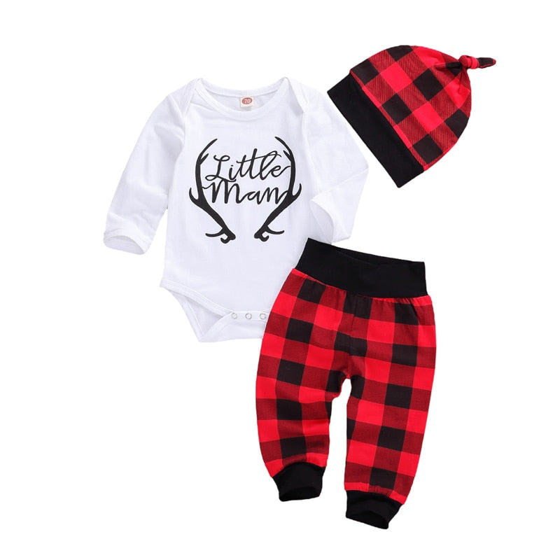 Little Man Christman Outfit